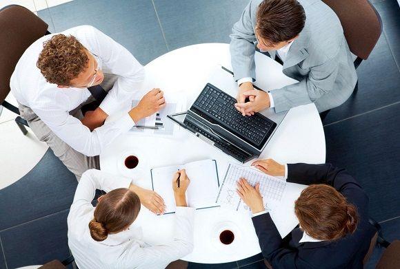 схема взаимодействия с клиентами